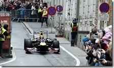 Vettel a Graz(Austria) con RB8