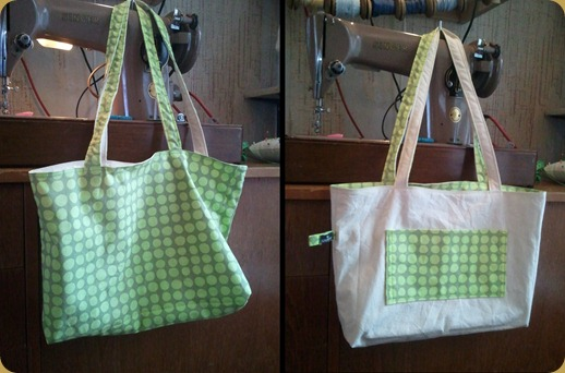Reversible Green Bag MkII