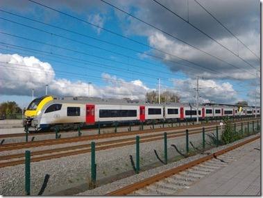 Station Noorderkenpen(Brecht) 駅