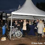 1e paal nieuwe gezondheids- en verpleegcentrum Oude Pekela de grond in - Foto's Simon Koster