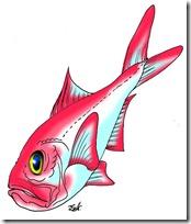 peces clipart blogolorear (8)