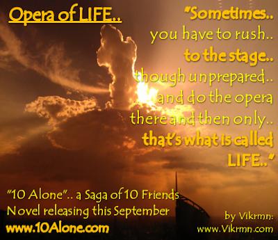 10 Alone : by Vikrmn : Opera of Life (CA Vikram Verma)