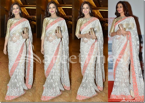 Sonali_Bendre_White_Manish_Malhotra_Saree