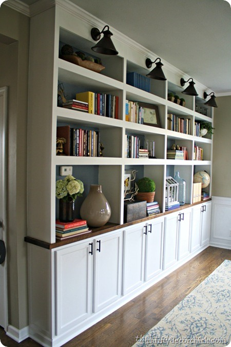 DIY built ins kitchen cabinets