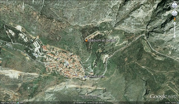 Map from google earth