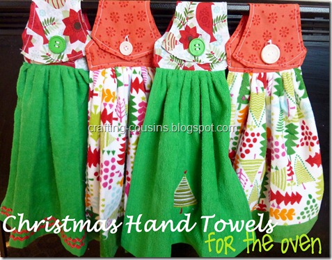 christmas hand towels for the oven