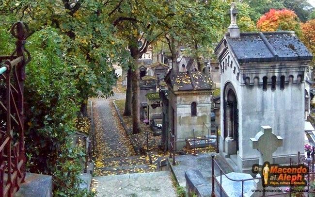 Visita al cementerio parisino del Père-Lachaise