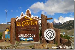 Entrada da cidade de El Chaltén, Argentina