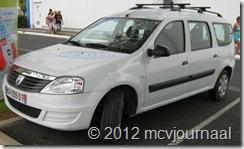 Dacia in Frankrijk 06