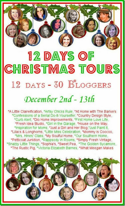 12 days of Christmas and 30 bloggers