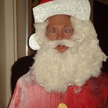 santa claus in Oud-IJmuiden, Noord Holland, Netherlands
