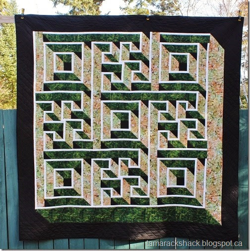Tamarack Shack Labyrinth Walk Quilt Cool Labyrinth Walk Quilt Pattern Free