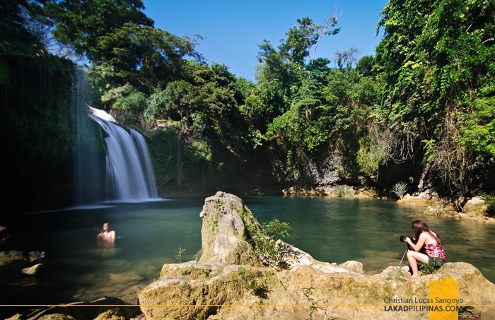 At Pangasinan's Bolinao Falls