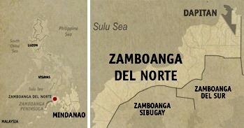 Dapitan Location Map
