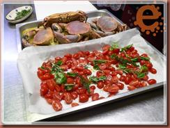 corso cucina pomodorini confit e i granchi dopo