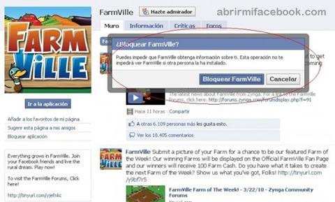 Cómo bloquear las aplicacinoes de Facebook