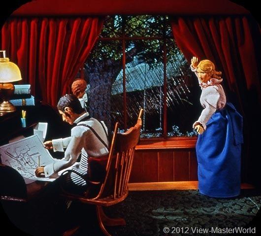 View-Master Frankenstein (B323), Scene A2