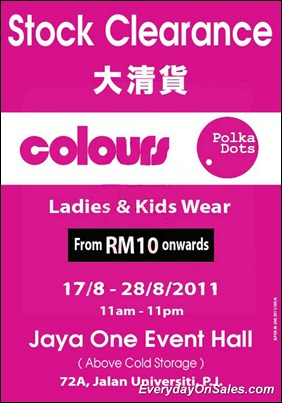 Colours-Polka-Dots-Stock-Clearance-2011-EverydayOnSales-Warehouse-Sale-Promotion-Deal-Discount