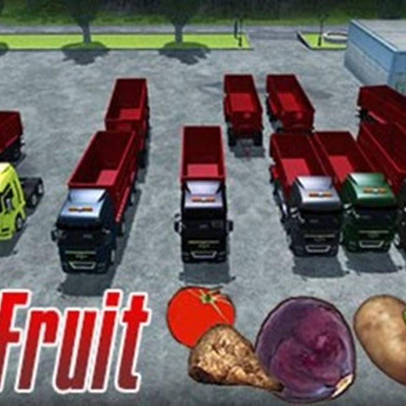 Farming simulator 2013 - Man TGX Krampe Pack MULTIFRUIT v 2.0 + Trailer