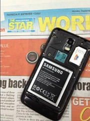 Samsung GALAXY S II Smart 4G LTE Back