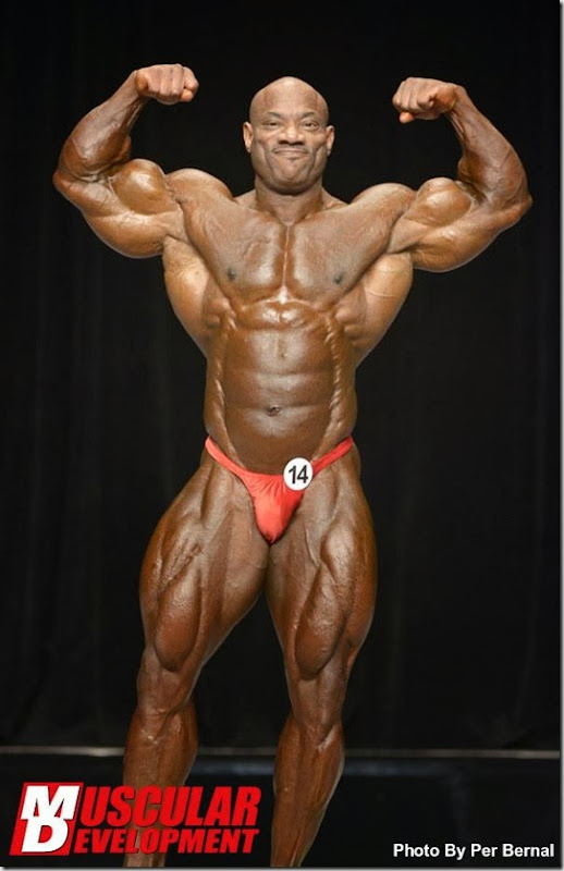 Dexter Mr Olympia 2013