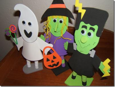 halloween goma eva manualidades niños