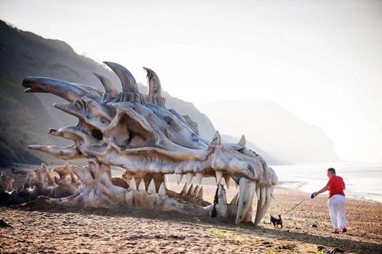 Esqueleto de dragão 05