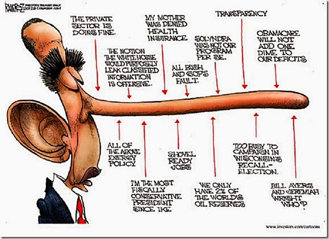 BHO Liar-in Chief pinoccchio