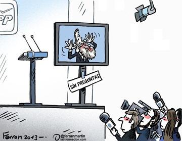 Rajoy dando la cara