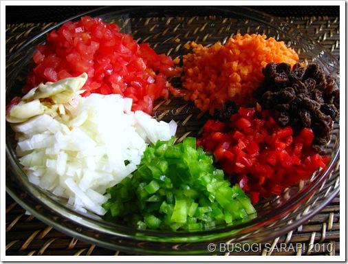 Rellenong Bangus Filling Ingredients© BUSOG! SARAP! 2010