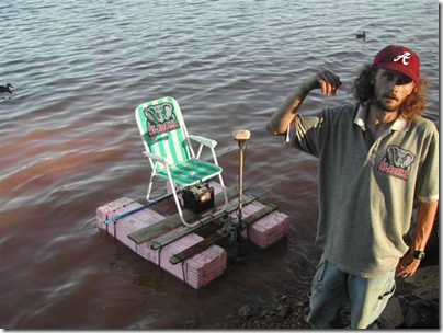 Redneck Pontoon - Bass Boat