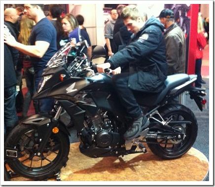 Honda CB500x 2013 Salon Moto Montreal