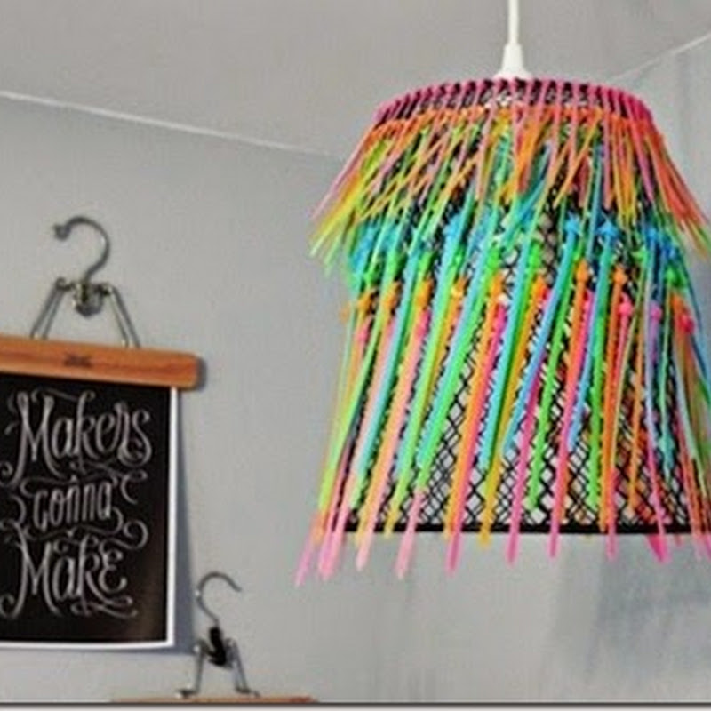Waste material craft ideas decor pictures for Waste material craft works