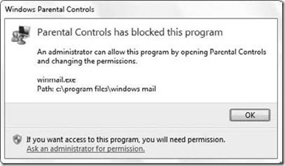 Running Standard User with Parental Controls in Windows 7