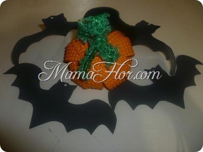 Calabaza de Fomis | Manualidades para Halloween