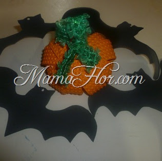 Calabaza de Fomis   Manualidades para Halloween