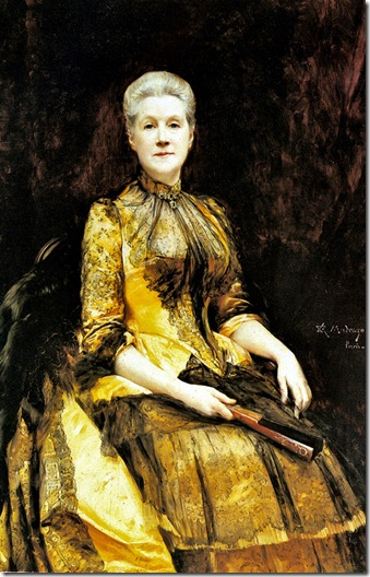 Raimundo Madrazo - A Portrait of Mrs. James Leigh Coleman