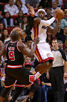 lebron james nba 130104 mia vs chi 01 King James Debuts LBJ X Portland PE But Ends Scoring Streak