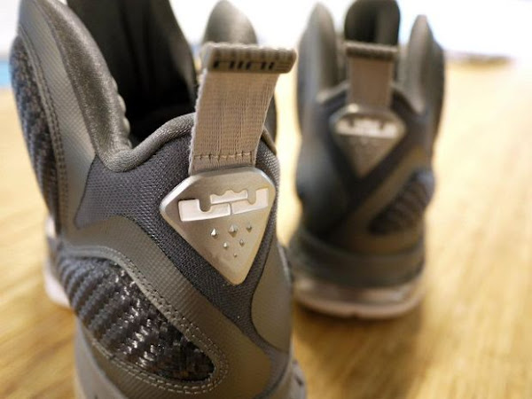 Better Photos Presenting the Upcoming LEBRON 9 8220Cool Grey8221