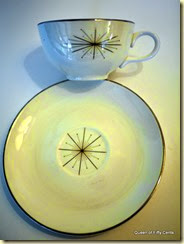 Laughlin Modern Star cup & saucer
