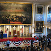 The rostrum in the Great Hall, Fanueil Hall Boston MA