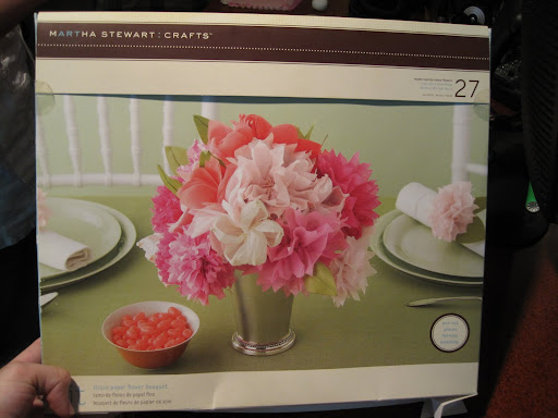 We used this great Martha Stewart Crafts kit, but you can also assemble your own set of materials.