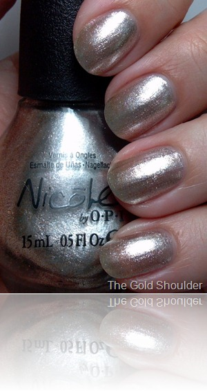 Nicole by OPI The Gold Shoulder 2