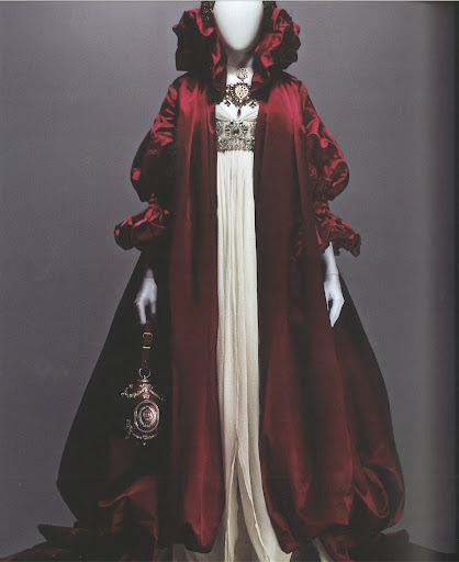 This satin cape is phenomenal, so luxurious and powerful.