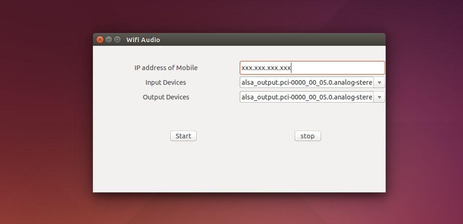 Wifi Audio in Ubuntu