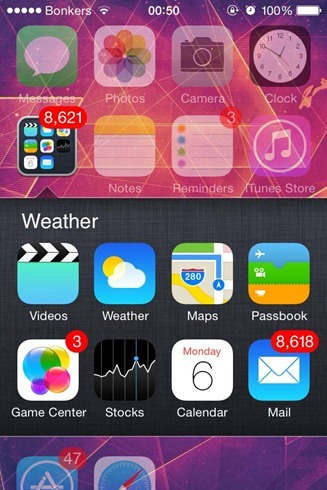 ClassicFolders Cydia Tweak iOS 6 Folders On iOS 7 iOS 8 (10)