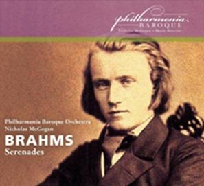 Johannes Brahms: SERENADES (Philharmonia Baroque, Nicholas McGegan; PBP-05)