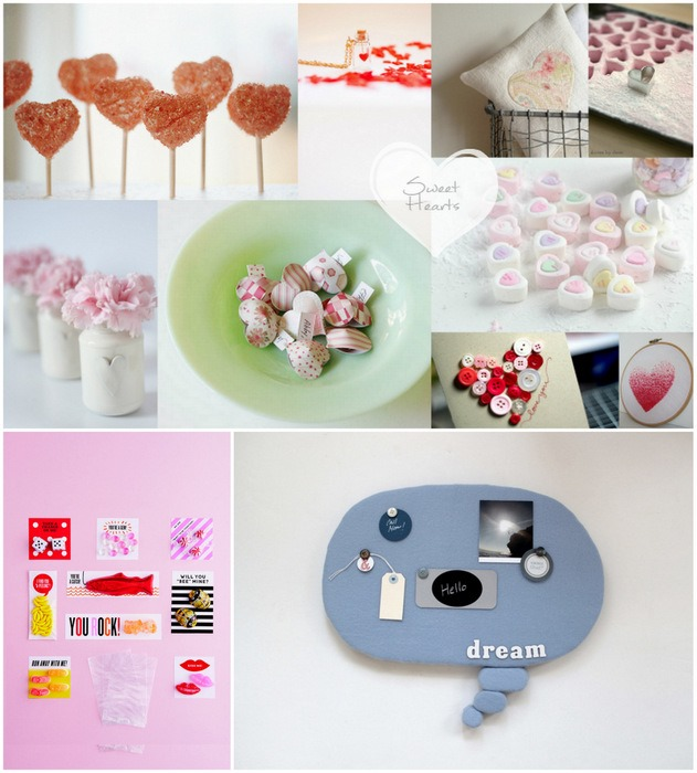 Inspiration Pinboard Hearts