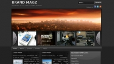 Brand magz blogger template 225x128