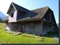 Casa de Vanatoare din Poiana Gutanului